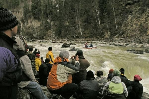 Сплав по горным рекам Алтая